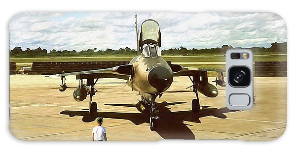 Tribute Galaxy Case - My Baby F-105 by Peter Chilelli