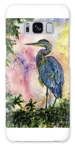 My Blue Heron Galaxy Case