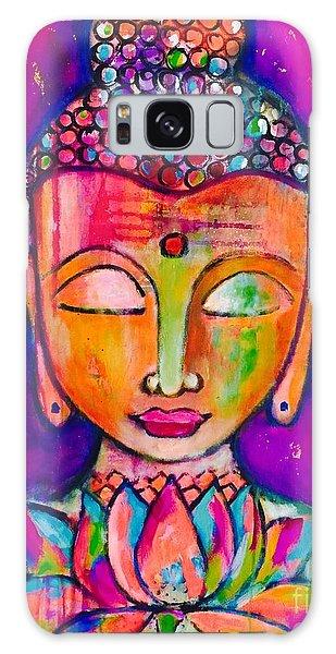 My Buddha  Galaxy Case