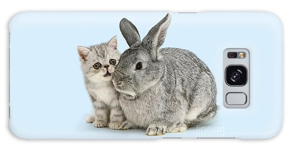 My Bunny Little Friend Galaxy Case