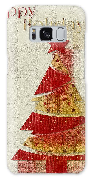 My Christmas Tree 02 - Happy Holidays Galaxy Case by Aimelle