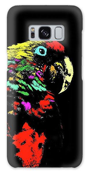 My Colorful Mccaw Galaxy Case
