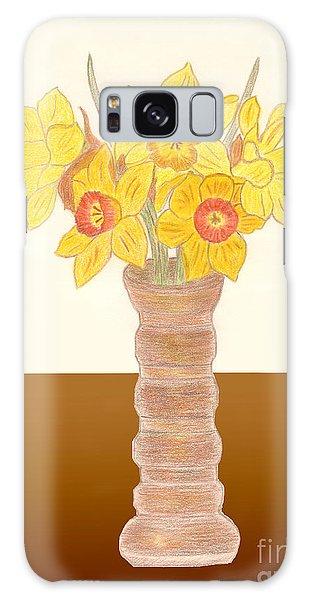 My Daffodils Galaxy Case
