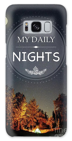 Outdoors Galaxy Case - My Daily Nights by Jean Plout
