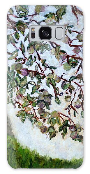 My Daughter's Apple Tree Galaxy Case by Aleezah Selinger