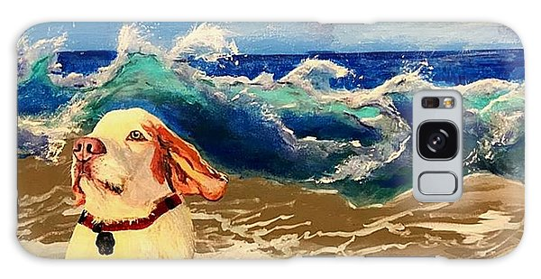 My Dog And The Sea #1 - Beagle Galaxy Case