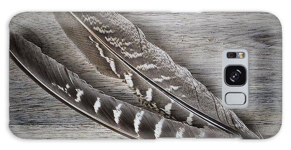 My Fabulous Feathery Find. Galaxy Case by Karen Stahlros