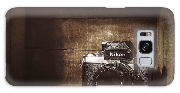 Vintage Camera Galaxy Case - My First Nikon Camera by Scott Norris