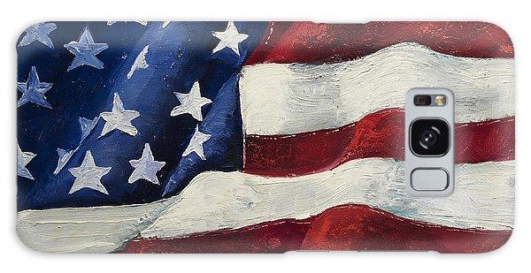 Patriotic Galaxy Case - My Flag by Jodi Monahan