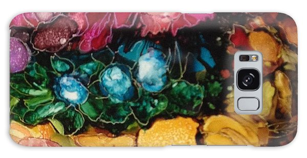 My Flower Garden Galaxy Case