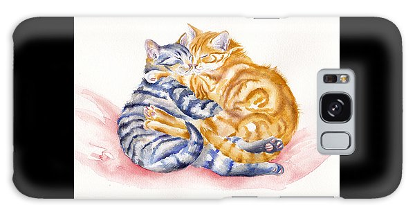 Cat Galaxy S8 Case - My Furry Valentine by Debra Hall