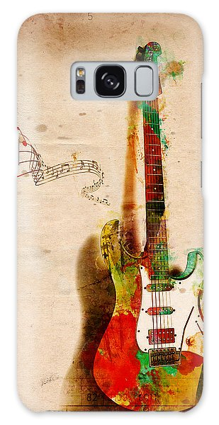 My Guitar Can Sing Galaxy Case by Nikki Smith