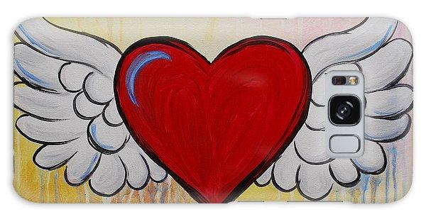 My Heart Has Wings Galaxy Case