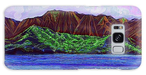 My Island Design  Galaxy Case by Debbie Chamberlin