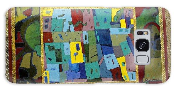 My Little Town Galaxy Case by Bernard Goodman