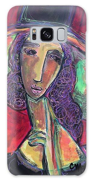 Galaxy Case featuring the painting My Love Lies With Rome by Laurie Maves ART