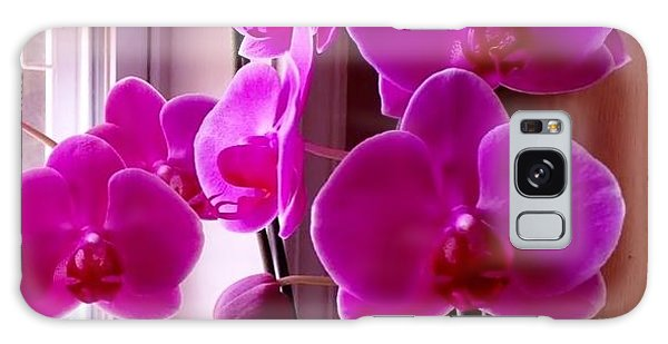 My Orchids Galaxy Case