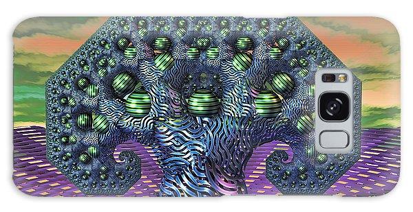 My Pythagoras Tree Galaxy Case by Manny Lorenzo