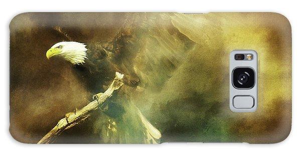 My Refuge Psalm 91 Galaxy Case by Eleanor Abramson