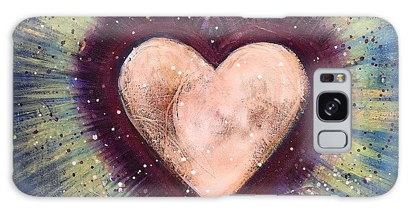 Galaxy Case featuring the painting My Royal Heart by Laurie Maves ART