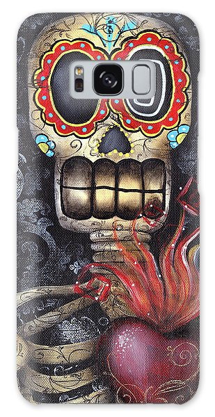 Skull Galaxy Case - My Sacred Heart by Abril Andrade Griffith