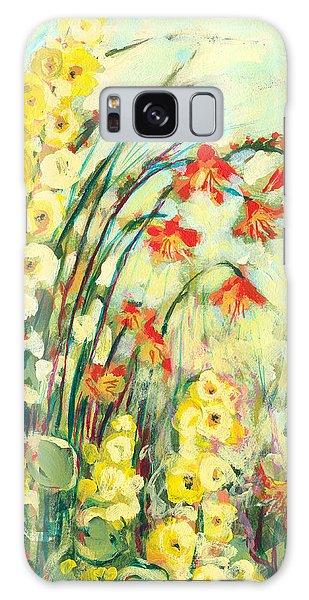 Impressionist Galaxy Case - My Secret Garden by Jennifer Lommers