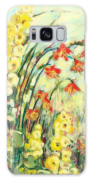 Floral Garden Galaxy Case - My Secret Garden by Jennifer Lommers