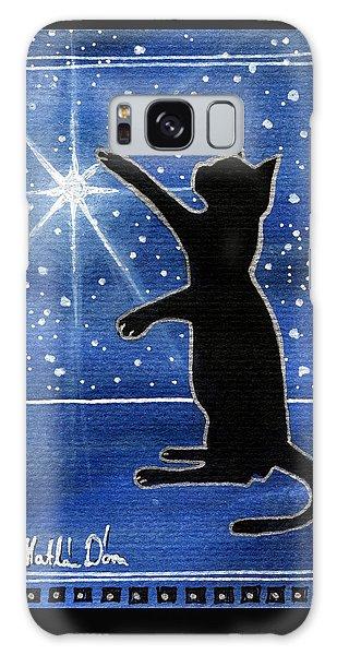 My Shinning Star - Christmas Cat Galaxy Case