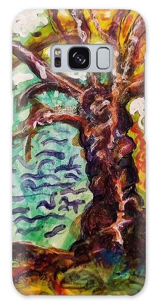 My Treefriend Galaxy Case by Mimulux patricia no No