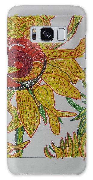 My Version Of A Van Gogh Sunflower Galaxy Case