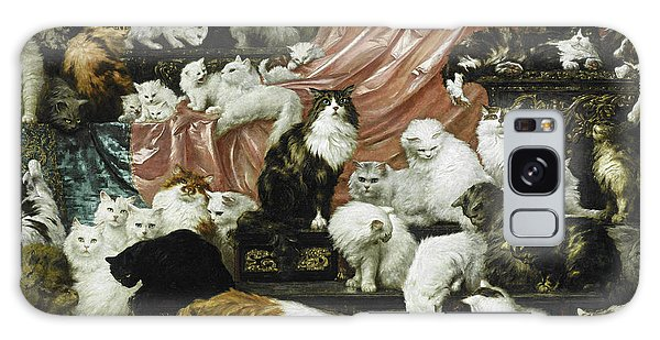 My Wife's Lovers Galaxy Case by Carl Kahler