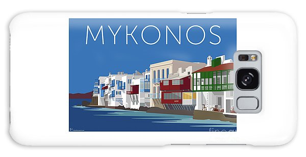 Mykonos Little Venice - Blue Galaxy Case