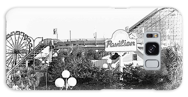 Myrtle Beach Pavillion Amusement Park Monotone Galaxy Case