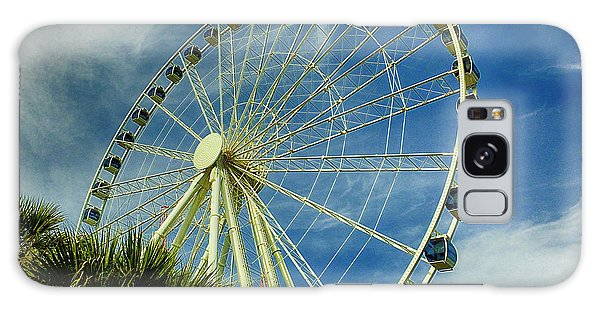 Galaxy Case featuring the photograph Myrtle Beach Skywheel by Bill Barber