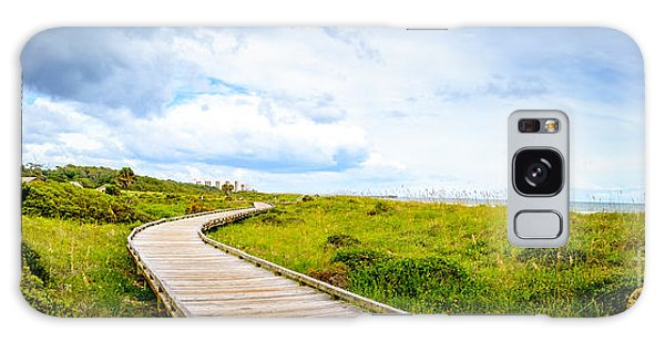 Myrtle Beach State Park Boardwalk Galaxy Case