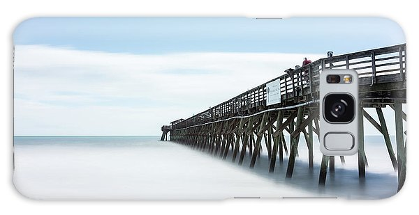 State Park Galaxy Case - Myrtle Beach State Park Pier by Ivo Kerssemakers