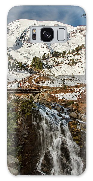 Myrtle Falls, Mt Rainier Galaxy Case