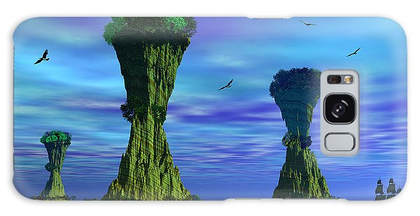 Mysterious Islands Galaxy Case