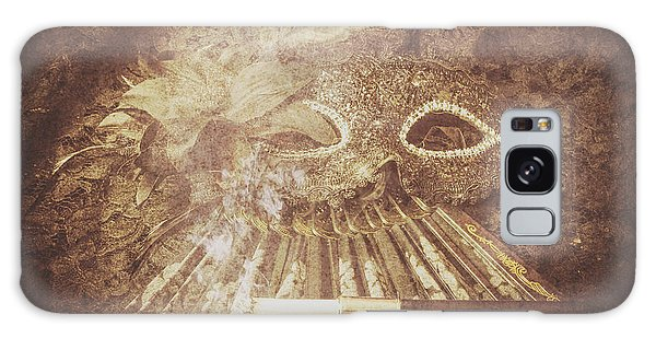 Mysterious Vintage Masquerade Galaxy Case by Jorgo Photography - Wall Art Gallery