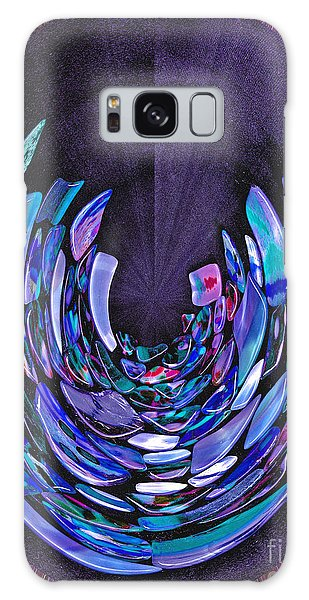 Mystery In Blue And Purple Galaxy Case by Nareeta Martin