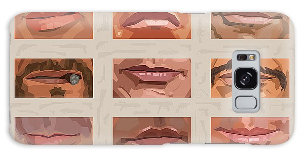 Mystery Mouths Of The Action Genre Galaxy Case by Mitch Frey