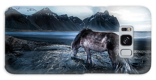 Iceland Galaxy S8 Case - Mystic Icelandic Horse by Larry Marshall