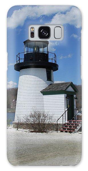 Mystic Lighthouse Galaxy Case by Gordon Mooneyhan