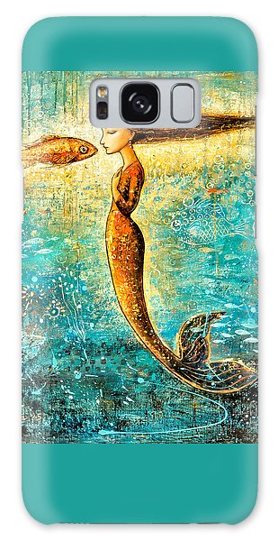 Extinct And Mythical Galaxy S8 Case - Mystic Mermaid Iv by Shijun Munns