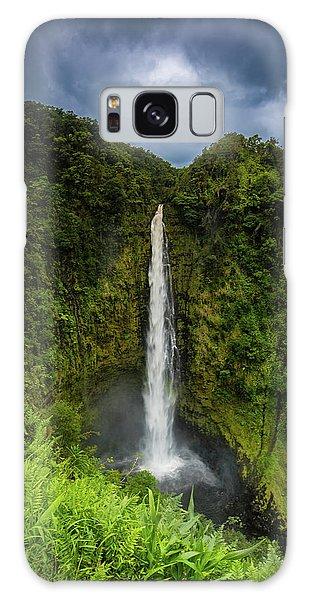 Mystic Waterfall Galaxy Case
