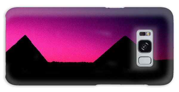The Pyramids At Sundown Galaxy Case