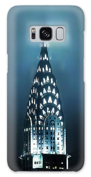 Chrysler Building Galaxy Case - Mystical Spires by Az Jackson