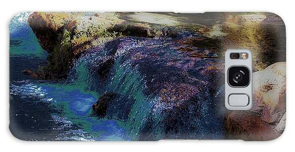 Mystical Springs Galaxy Case by DigiArt Diaries by Vicky B Fuller