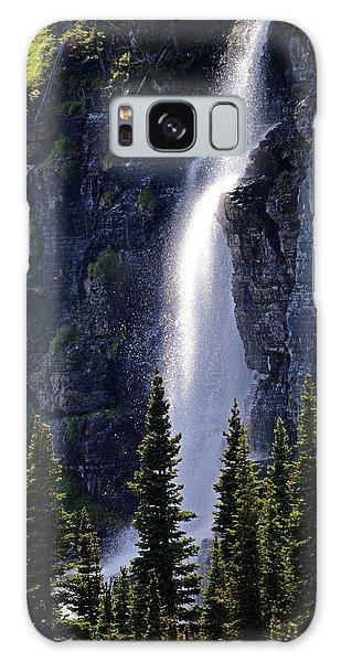 Mystical Waterfall Galaxy Case