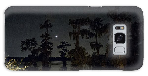 Mystique Of A Cajun Night Galaxy Case